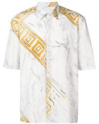 Versace - Camisa estampada - Lyst