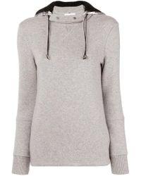 Paco Rabanne - Detachable Hood Sweatshirt - Lyst