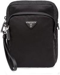 Prada - Double Pocket Messenger Bag - Lyst