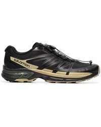 Salomon S/LAB - X The Broken Arm Black And Gold Metallic Slab Wings Pro Sneakers - Lyst