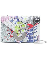 Just Cavalli - Floral Print Shoulder Bag - Lyst