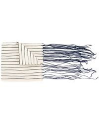 Toogood - Tasseled Striped Scarf - Lyst