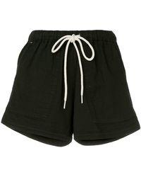 Bassike - Shorts con motivo de espiga - Lyst
