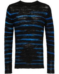 The Elder Statesman - Picasso Crew Neck Sweater - Lyst