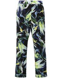 Erdem - Giulia Night Bird Print Trousers - Lyst