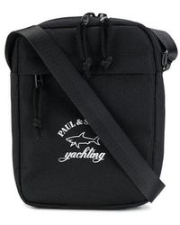 Paul & Shark - Logo Messenger Bag - Lyst