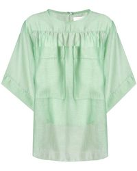 See By Chloé - Loose-fit Blouse - Lyst