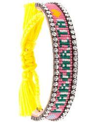 Shourouk - 'margarita' Tassel Bracelet - Lyst