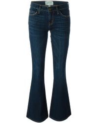 "Current/Elliott - Jeans ""The Low Bell"" - Lyst"