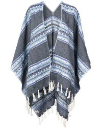 lemlem - Fringed Striped Kimono - Lyst
