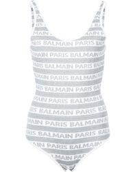 Balmain - Logo Stripe Body - Lyst
