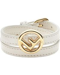 Fendi - F Is Bracelet - Lyst