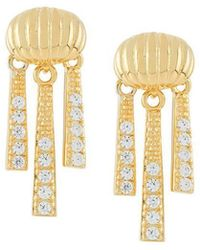 V Jewellery - Priscilla Earrings - Lyst