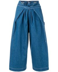 Levi's - Cropped Trousers - Lyst