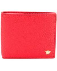 Versace - Medusa Billfold Wallet - Lyst