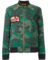 Mr & Mrs Italy - Camouflage Print Jacket - Lyst
