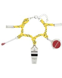 DSquared² - Camping Cord Charm Bracelet - Lyst