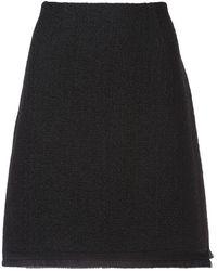 Paule Ka - Fringed Hem Skirt - Lyst