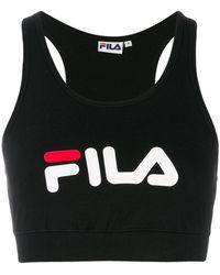 Fila | Logo Sports Bra Top | Lyst