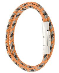 Tod's - Woven Bracelet - Lyst