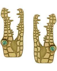 Marc Alary - Crocodile Earrings - Lyst