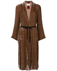 Diega - Multo Belted Coat - Lyst