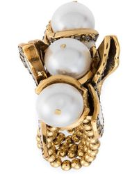 Camila Klein - Pearl Embellished Ring - Lyst