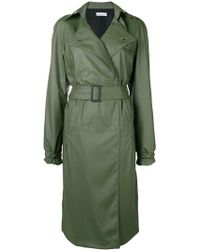 Paco Rabanne - Belted Trench Coat - Lyst