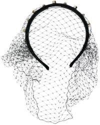 RED Valentino - Red(v) Tulle Headband - Lyst
