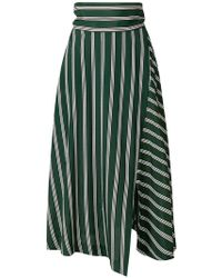Enfold - Striped Skirt - Lyst