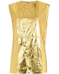 Osklen - Metallic Waistcoat - Lyst