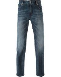 Fendi - Slim Bag Bug Jeans - Lyst