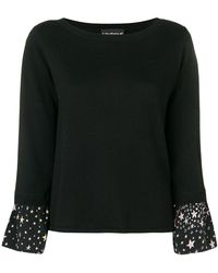 Boutique Moschino - Boat Neck Jumper - Lyst