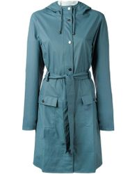 Rains - Belted Coat - Lyst