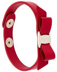 Ferragamo Vara Bow Bracelet - Rood