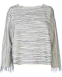 Toogood - Striped Oversized Top - Lyst