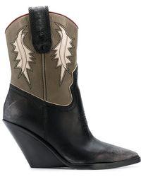 DIESEL - D-west Boots - Lyst
