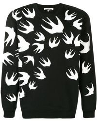 """McQ - Sweatshirt mit """"Swallow""""-Print - Lyst"""