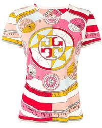 Tory Burch - T-shirt Constellation - Lyst