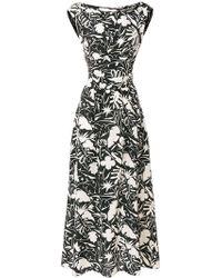 Aspesi - Printed Sleeveless Dress - Lyst
