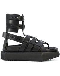 Rick Owens - Granola Platform Sandals - Lyst