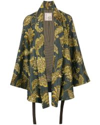 Antonio Marras   Leaves Print Kimono Jacket   Lyst