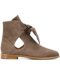 Unützer - Cut-out Ankle Boots - Lyst
