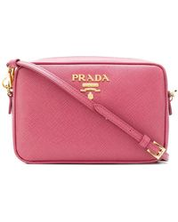 Prada - Logo Plaque Camera Bag - Lyst