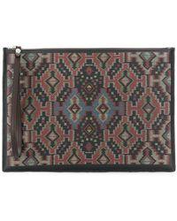 Etro - Carpet Print Pouch - Lyst