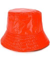 Manokhi - Vinyl Bucket Hat - Lyst