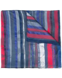 Armani - Striped Scarf - Lyst