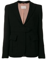 L'Autre Chose - Waistband Fitted Jacket - Lyst