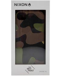 Nixon - 'mitt Print' Iphone 4s Case - Lyst