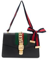 7c6ea054076 Gucci - Sylvie Small Shoulder Bag - Lyst